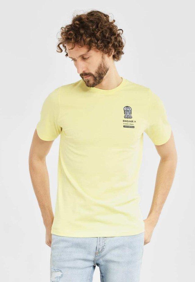TICKETOS - T-shirt print - lime