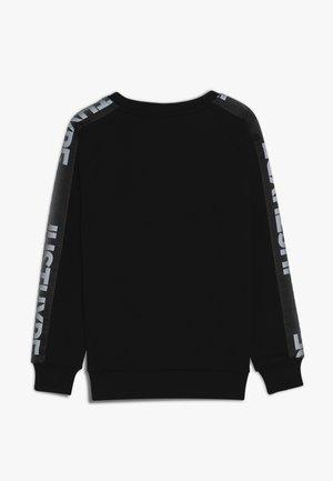KIDS CREW NECK SPECKLE TAPE - Sweatshirt - black