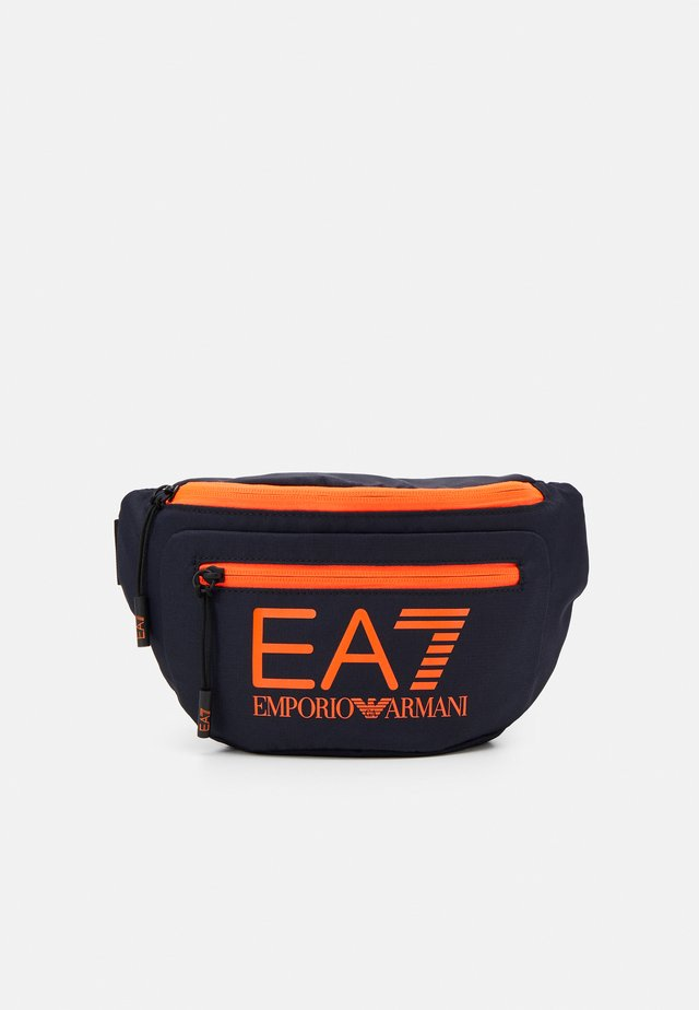BELT BAG UNISEX - Bum bag - night blu/orange fluo