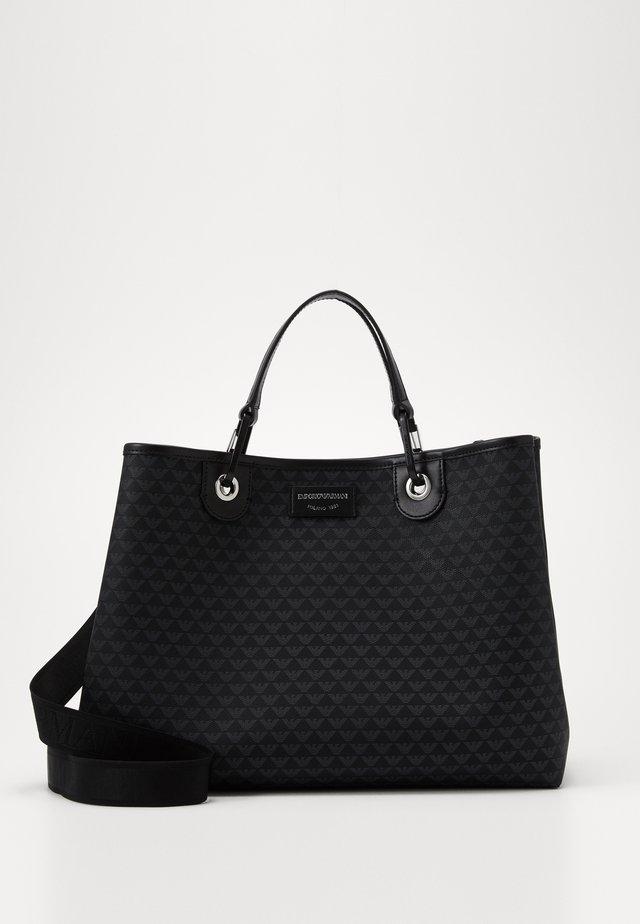 PRINT LOGO SET - Shopping bag - nero/nero