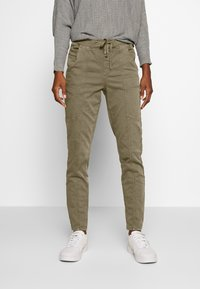 Cream - ROSITA - Trousers - khaki - 0