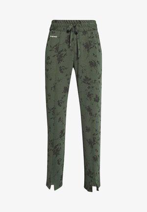 PANT PINTUCK GARDENS - Spodnie treningowe - caqui