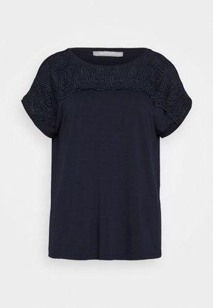 MASSTAB - T-shirt print - navy blue