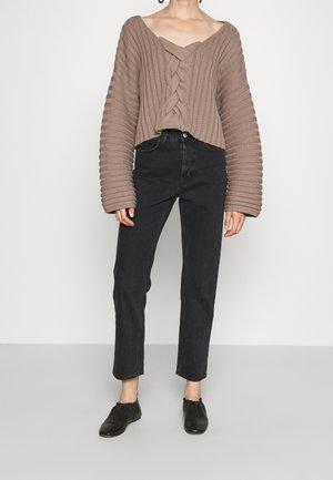 DEVINE - Jeans a sigaretta - washed black