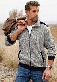 Roger Kent - Zip-up sweatshirt - grau,schwarz - 1