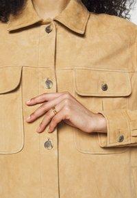 Alberta Ferretti - Kožená bunda - beige - 6