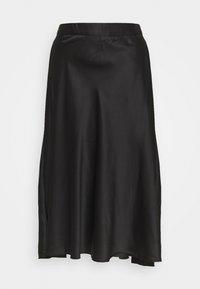 Vero Moda - CHRISTAS - A-line skjørt - black - 0