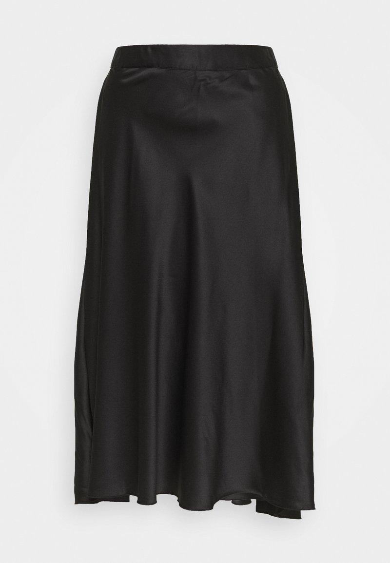 Vero Moda - CHRISTAS - A-line skjørt - black