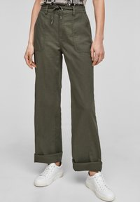 QS by s.Oliver - Trousers - khaki - 0