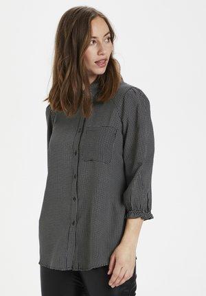 CURAYA  - Button-down blouse - black