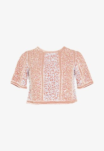 ELLIS - Blusa - dusty pink