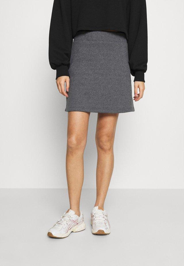VMESRA SHORT SKIRT - Mini skirt - dark grey