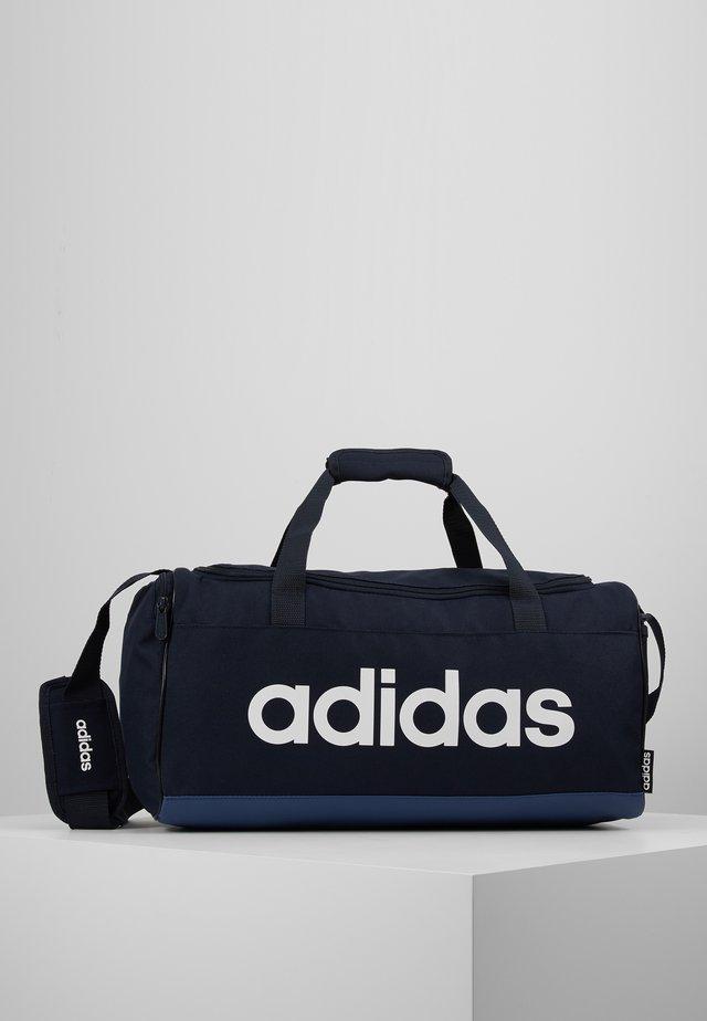 ESSENTIALS LINEAR SPORT DUFFEL BAG UNISEX - Sports bag - legink/tecind/white