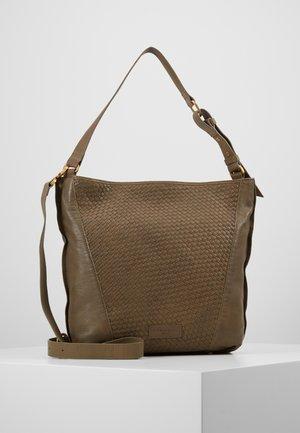 SAHOBOM - Handbag - dusky olive