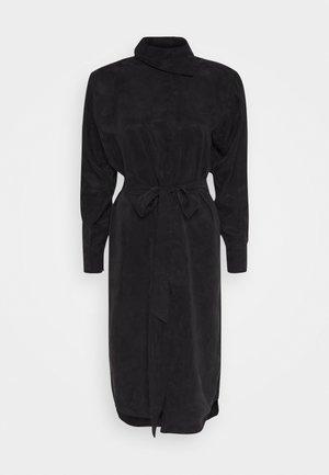 CARO - Vestito lungo - black