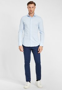 PROFUOMO - JAPANESE KNITTED - Shirt - blue - 1