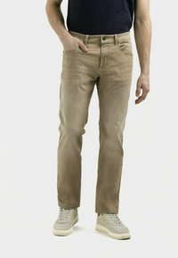 camel active - MIT STRETCH - Straight leg jeans - wood - 0