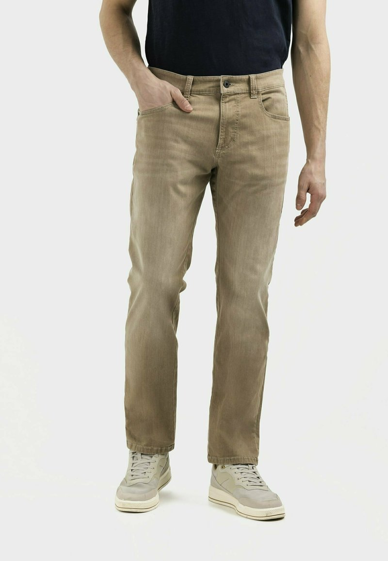 camel active - MIT STRETCH - Straight leg jeans - wood