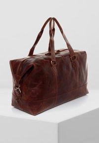 SID & VAIN - WEEKENDER - YALE - Weekend bag - braun-cognac - 2