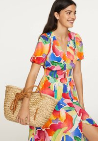 OYSHO - LONG MAXI-FLORAL DRESS 31992115 - Maxi dress - multi-coloured - 2