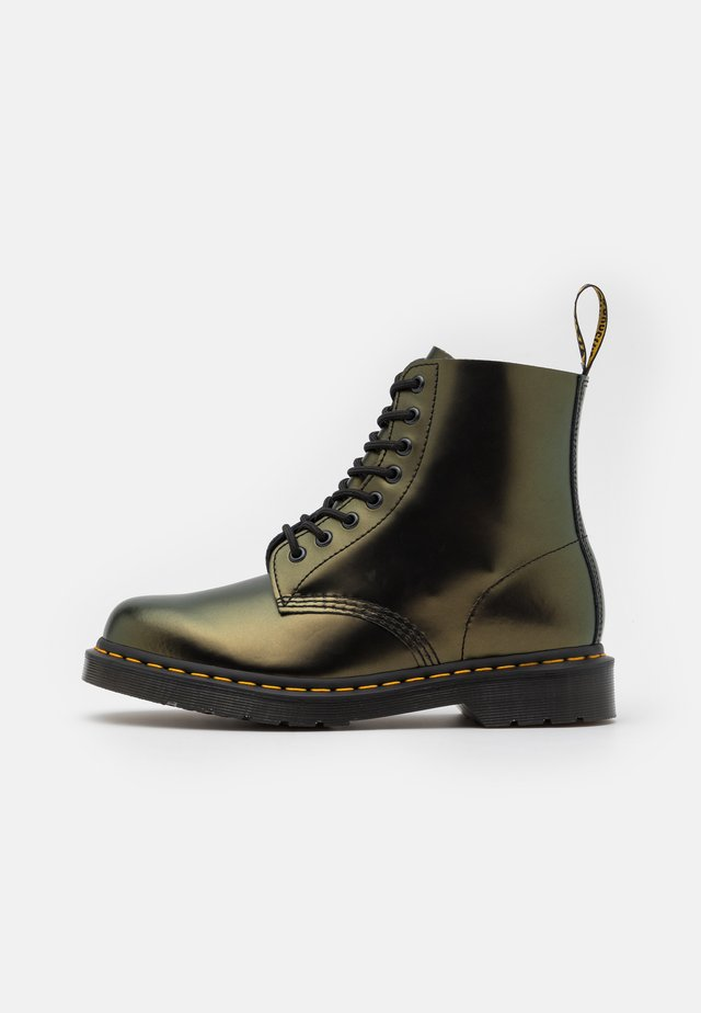 1460 PASCAL UNISEX - Lace-up ankle boots - gold chroma