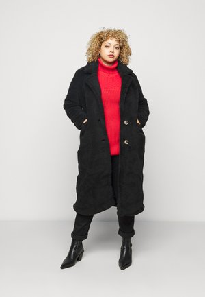 LONGLINE - Winter coat - black