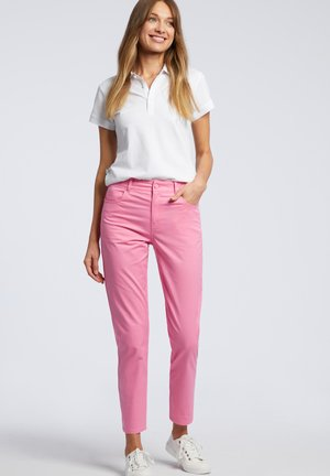 Jeansy Slim Fit - pink