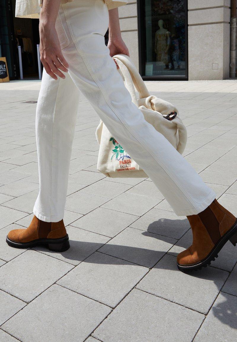 See by Chloé - MALLORY BOOTIE - Kotníkové boty - tan