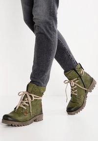Rieker - Zimní obuv - leaf/magano - 0