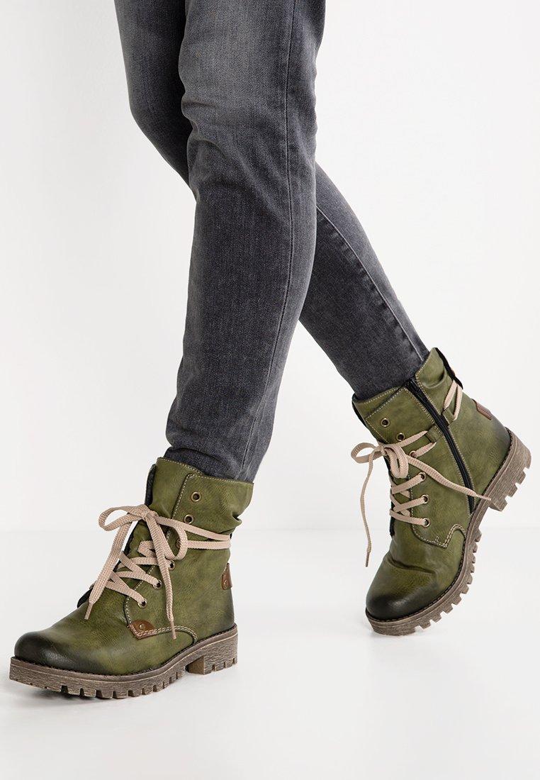 Rieker - Zimní obuv - leaf/magano