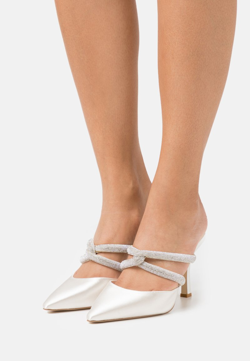 Dune London - DARCI - Heeled mules - ivory