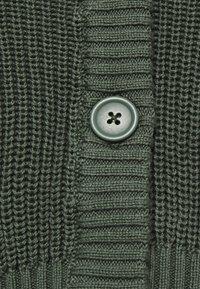 Even&Odd - CROPPED CARDIGAN - Cardigan - green - 5