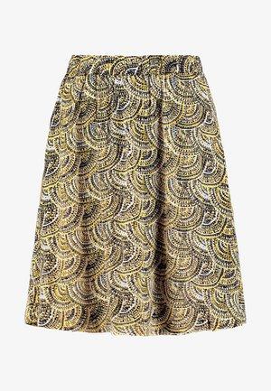JANNIKA SKIRT - A-line skirt - black deep