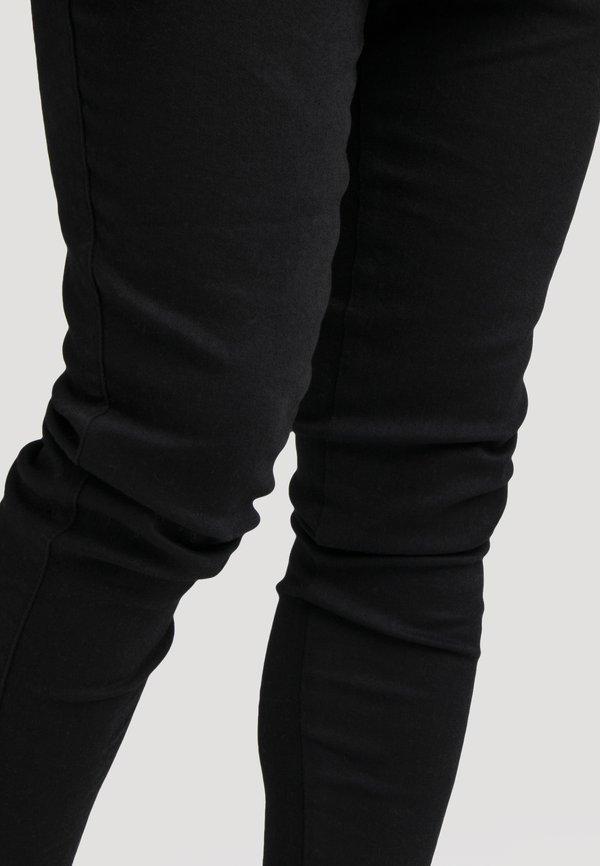 SIKSILK NON RIP - Jeansy Skinny Fit - black/czarny Odzież Męska CWHR