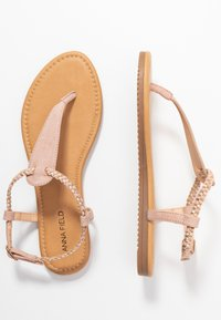 Anna Field - Tongs - rose gold - 3