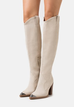 NEW AMERICANA - High heeled boots - sand