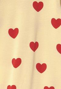 Mini Rodini - BABY HEARTS UNISEX - Overal - offwhite - 2