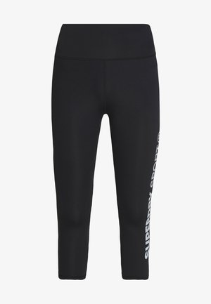 TRAINING ESSENTIAL CAPRI - Tights - black