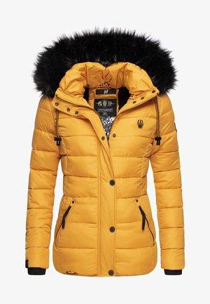 ZUCKERBIENE - Winter jacket - yellow
