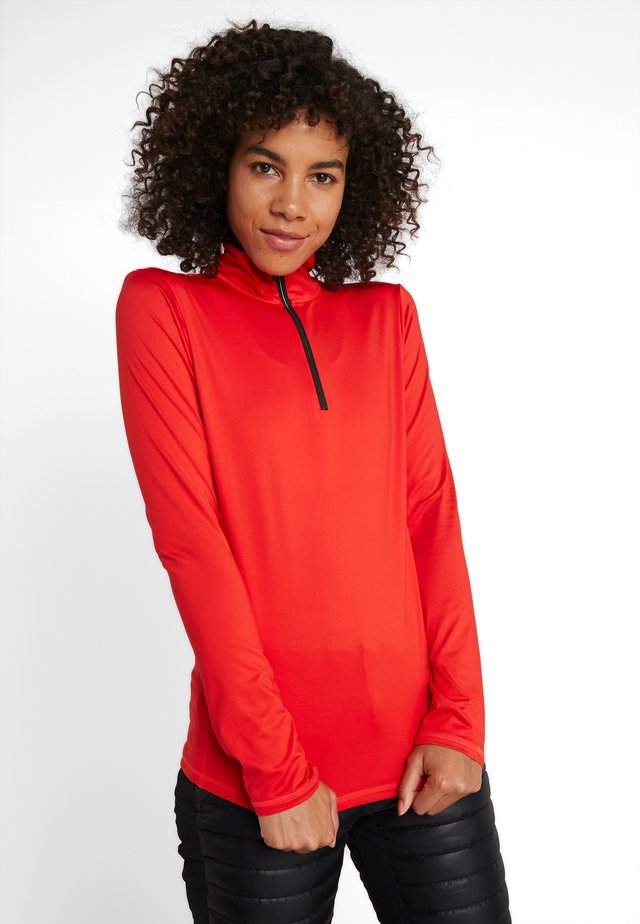 MARGO - Fleece trui - orange