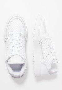 adidas Originals - SUPERCOURT  - Trainers - footwear white/purple tint - 3