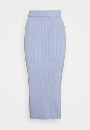 SKIRT - Pencil skirt - pale blue
