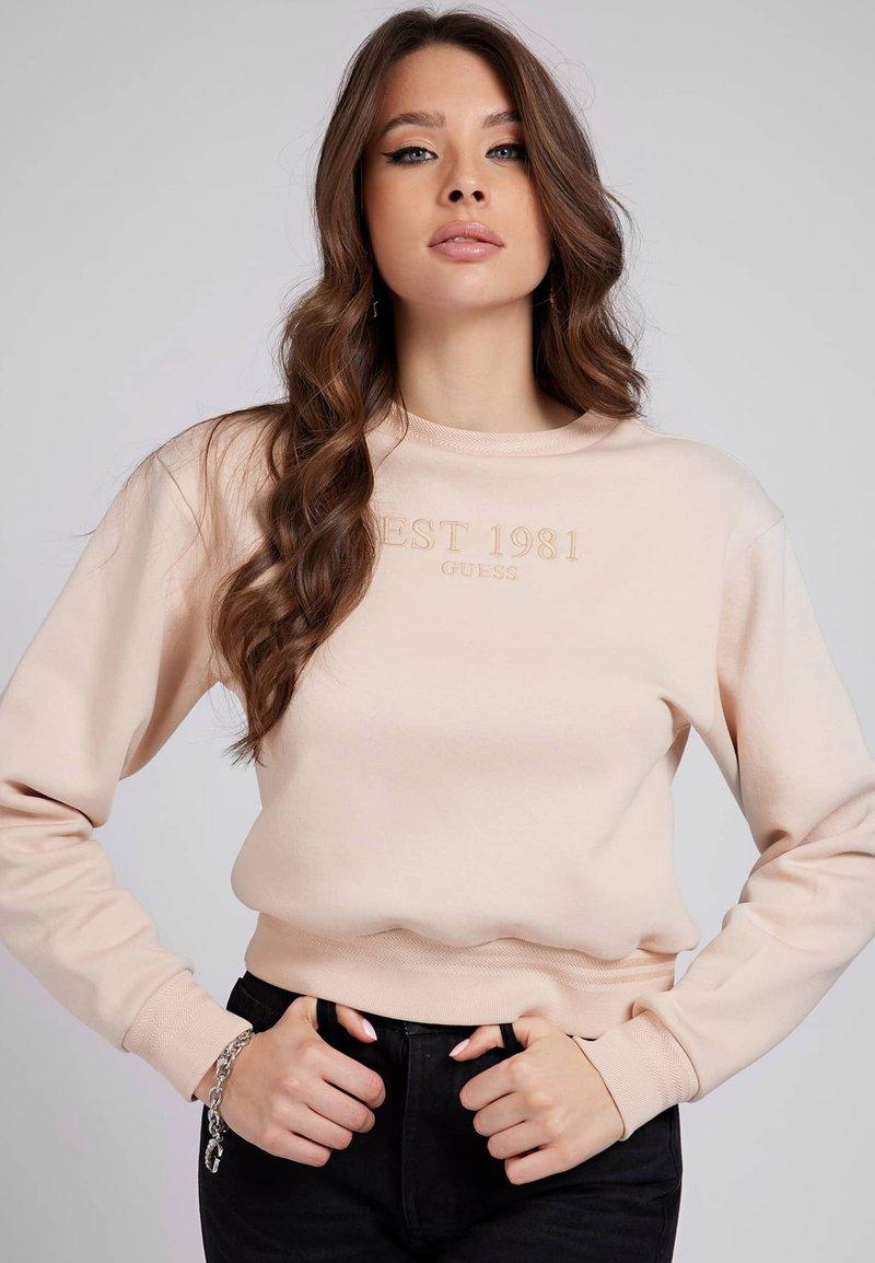 Guess - Sweatshirt - beige