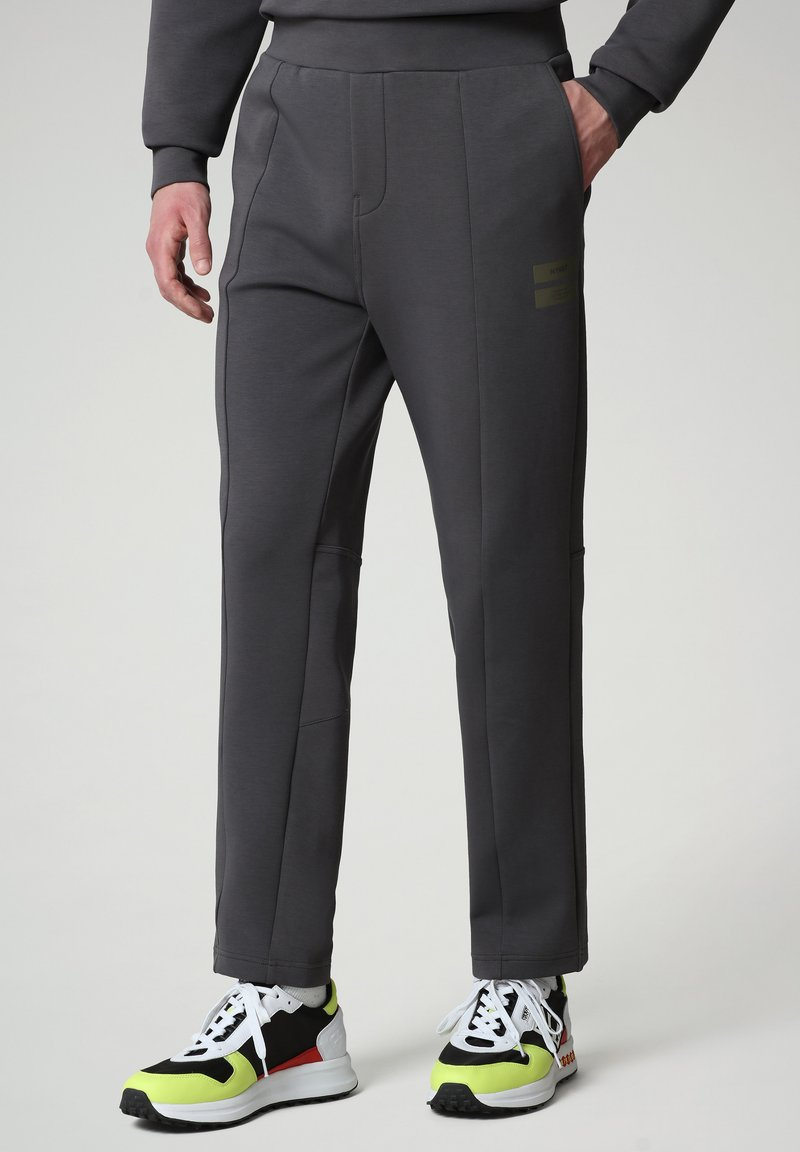 Napapijri - OAHU - Tracksuit bottoms - dark grey solid