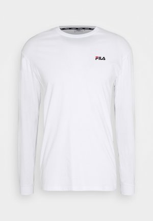 TEDOS TAPE LONG SLEEVE - Long sleeved top - bright white
