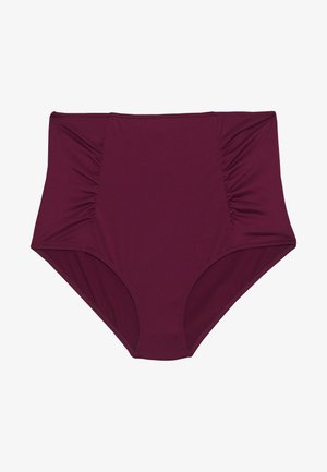 BERRY ESSENTIAL HIGH WAISTED BRIEF - Bikiniunderdel - berry