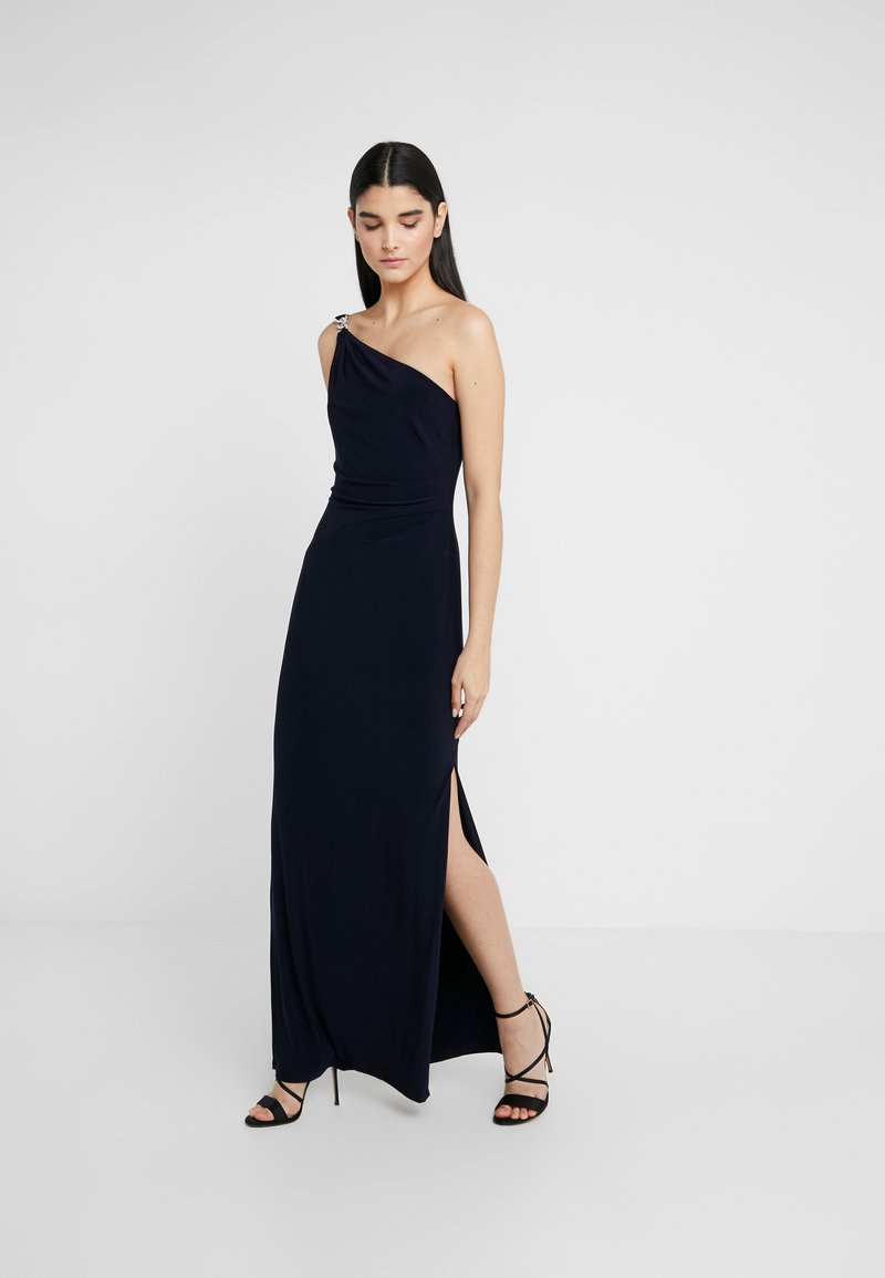 Lauren Ralph Lauren - CLASSIC LONG GOWN - Žerzejové šaty - lighthouse navy