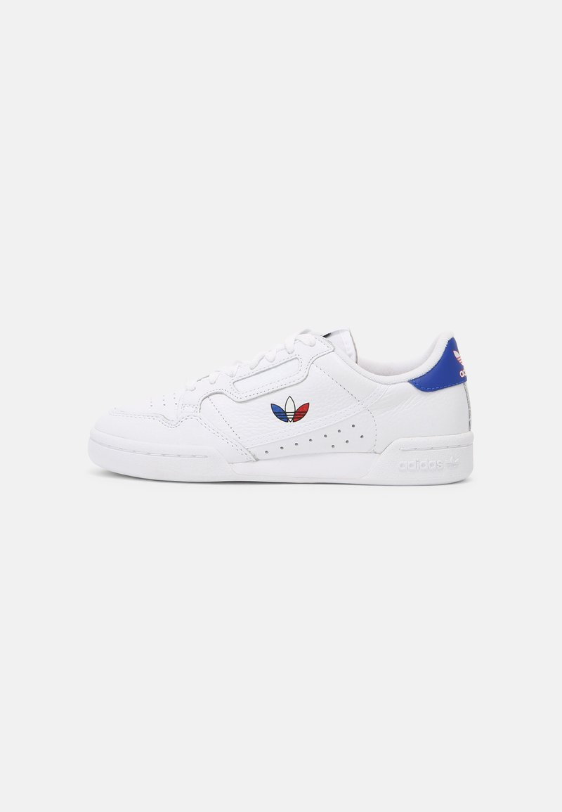 adidas Originals - CONTINENTAL 80 UNISEX - Sneakersy niskie - white/red/core black