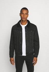 Blend - OUTERWEAR - Denim jacket - denim black - 0