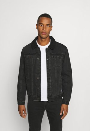 OUTERWEAR - Denim jacket - denim black